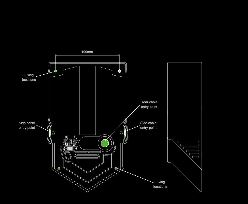 dyson airblade v hand dryer internal dimensions - Dyson Airblade V