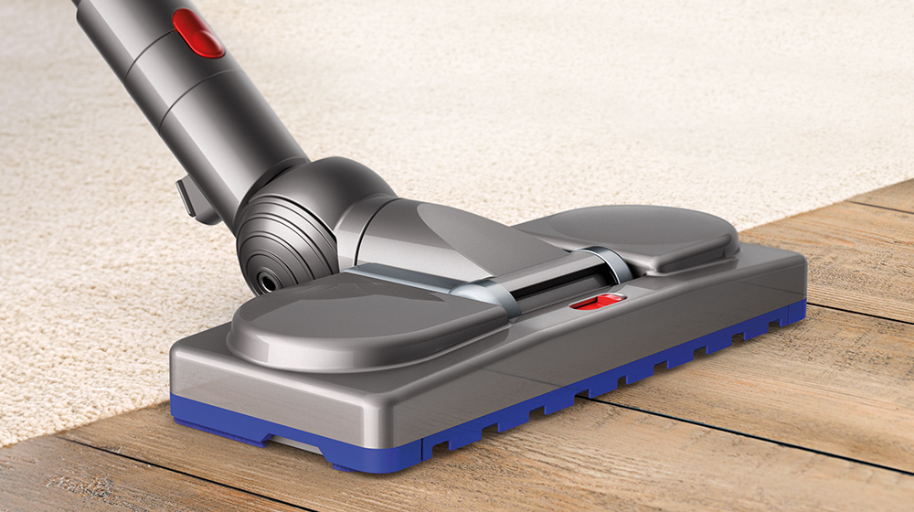 The Musclehead Floor Tool Automatically Seals In Suction Across Carpets Rugs And Hard Floors